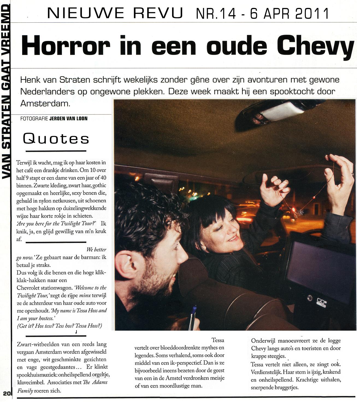Horror in een oude Chevy